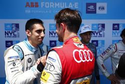 Sébastien Buemi, Renault e.Dams, with Daniel Abt, Audi Sport ABT Schaeffler