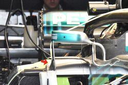 Mercedes AMG F1 W09 mirroe mount