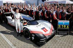 Timo Bernhard y el Porsche 919 Hybrid Evo
