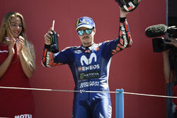 Podium: Maverick Viñales, Yamaha Factory Racing
