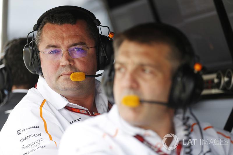 Eric Boullier, directeur, McLaren