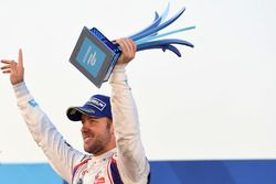 Podio: ganador de la carrera Sam Bird, DS Virgin Racing