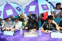 Oliver Turvey, NIO Formula E Team, Luca Filippi, NIO Formula E Team, the EJ amd Nicolas Prost, Renau