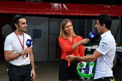 Dario Franchitti, Nicki Shields, Lucas di Grassi, Audi Sport ABT Schaeffler