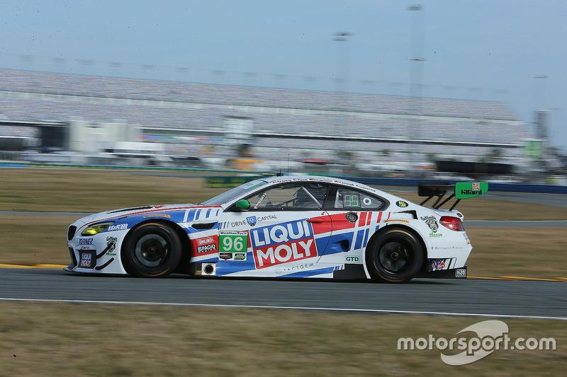 38.- #96 Turner Motorsport BMW M6 GT3 (GTD): Jens Klingmann, Martin Tomczyk, Mark Kvamme, Don Yount, Cameron Lawrence