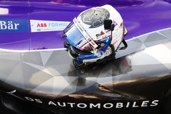 Le casque de Sam Bird, DS Virgin Racing