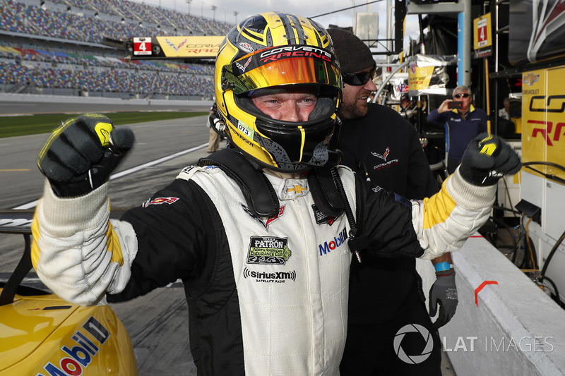 Поул GTLM: #3 Corvette Racing Chevrolet Corvette C7.R, GTLM: Ян Магнуссен