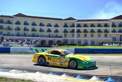 #86 TA Ford Mustang, John Baucom of Baucom Motorsports