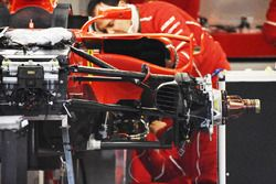 Ferrari SF70H: Vorderradaufhängung, Kimi Räikkönen
