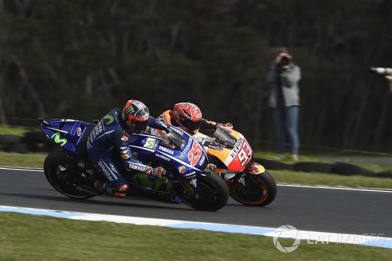 Maverick Viñales, Yamaha Factory Racing, Marc Marquez, Repsol Honda Team
