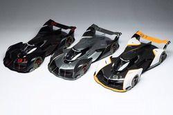 McLaren Ultimate Vision GT scale models