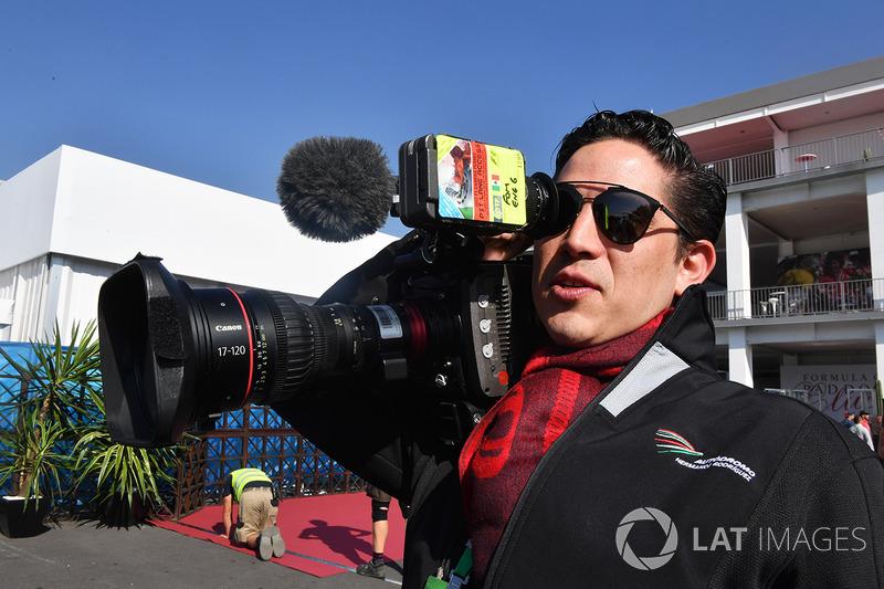 Менеджер по маркетингу Гран При Мексики Родриго Санчес