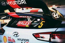 El coche de Thierry Neuville, Nicolas Gilsoul, Hyundai i20 WRC, Hyundai Motorsport