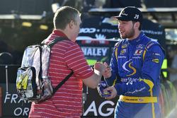 Chase Briscoe, Brad Keselowski Racing Ford signs an autograph