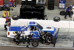 Todd Peck, Copp Motorsports Chevrolet, pit stop