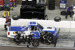 Todd Peck, Copp Motorsports Chevrolet, pit stop