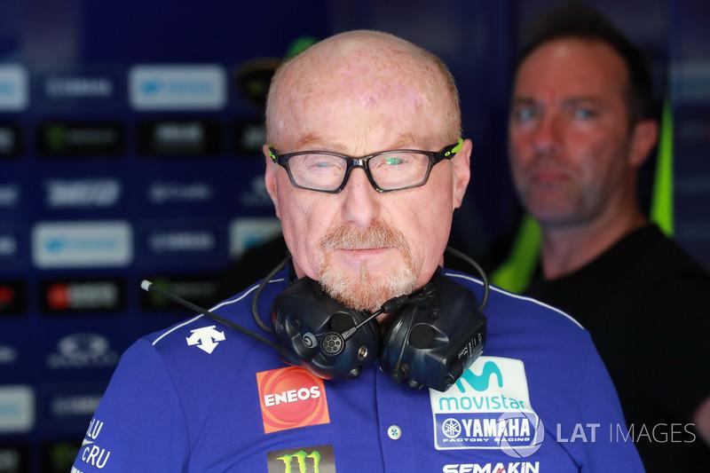 Silvano Galbusera, jefe de mecánicos de Valentino Rossi, Yamaha Factory Racing