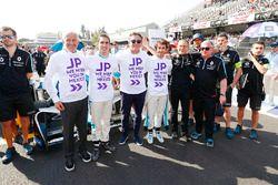Sébastien Buemi, Renault e.Dams, Alejandro Agag, CEO de Formula E, Nicolas Prost, Renault e.Dams, co