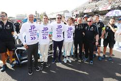 Sébastien Buemi, Renault e.Dams, Alejandro Agag, Formula E CEO, CEO, Formula E, Nicolas Prost, Renault e.Dams, with a message for Dams Team Principal Jean Paul Driot