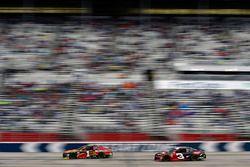 Jamie McMurray, Chip Ganassi Racing, McDonald's Chevrolet Camaro and Austin Dillon, Richard Childress Racing, Dow Chevrolet Camaro