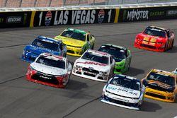 Christopher Bell, Joe Gibbs Racing, Toyota Camry Rheem-Smurfit Kappa, Kyle Larson, Chip Ganassi Racing, Chevrolet Camaro DC Solar