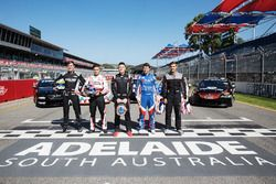 Gruppenfoto: Supercars-Rookies 2018