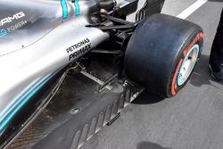 Mercedes AMG F1 W09 sensors detail