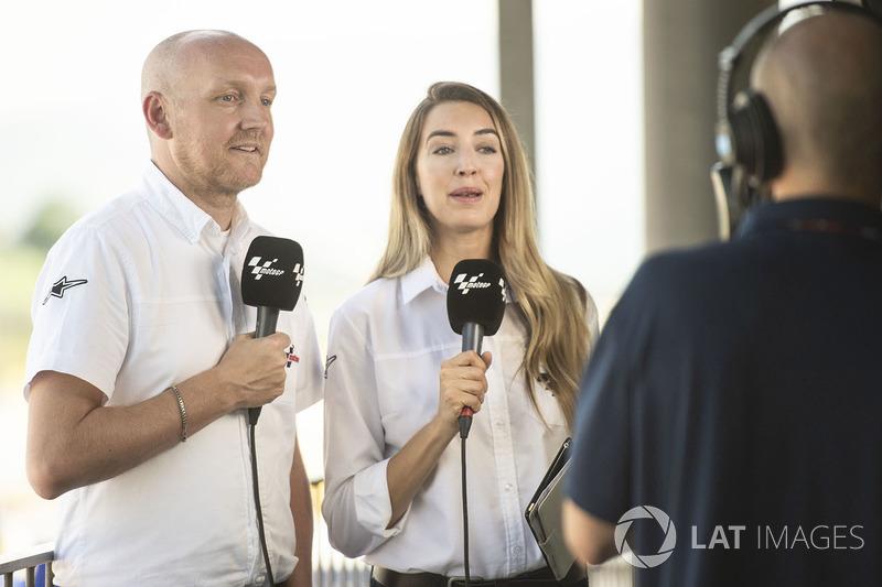 Matt Birt, Amy Dargan, Dorna TV
