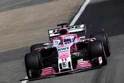 Sergio Perez, Force India VJM11.