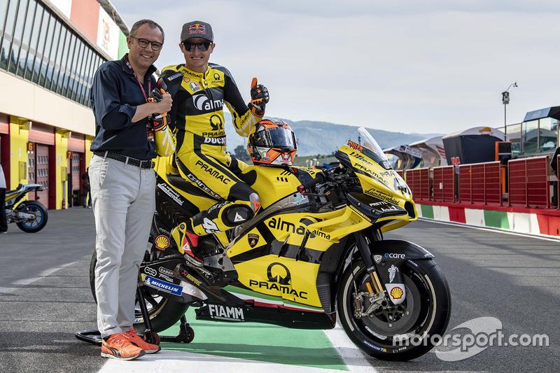Jack Miller, Pramac Racing, avec la livrée spéciale Lamborghini