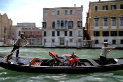 Bike von Jorge Lorenzo, Ducati Team, in Venedig