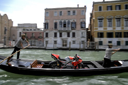 Bike of Jorge Lorenzo, Ducati Team in Venice
