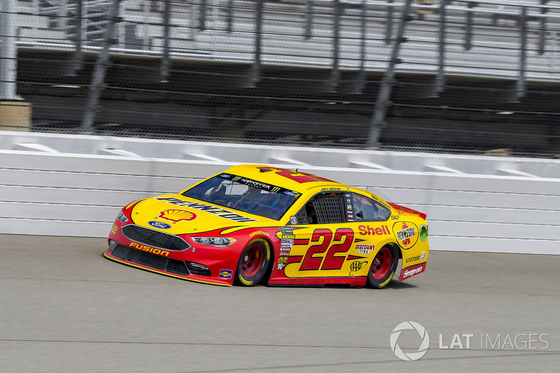 5. Joey Logano, Team Penske, Ford Fusion Shell Pennzoil