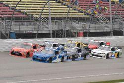 Kyle Busch, Joe Gibbs Racing, Toyota Camry Maltesers, Elliott Sadler, JR Motorsports, Chevrolet Cama