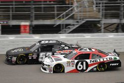 Kaz Grala, Fury Race Cars LLC, Ford Mustang NETTTS and David Starr, Means Motorsports, Chevrolet Cam