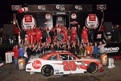 Christopher Bell, Joe Gibbs Racing, Toyota Camry Rheem wins