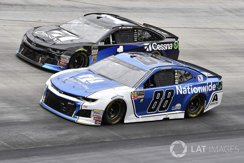 Alex Bowman, Hendrick Motorsports, Chevrolet Camaro Nationwide and Jamie McMurray, Chip Ganassi Racing, Chevrolet Camaro Cessna