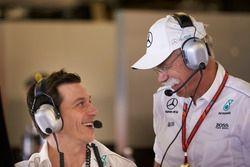 Toto Wolff, Executive Directeur Mercedes AMG F1, Dr Dieter Zetsche, CEO, Mercedes Benz