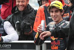 Second place Niccolo Antonelli, Red Bull KTM Ajo