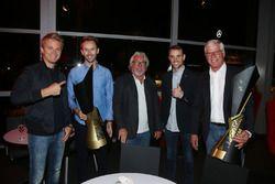 Nico Rosberg, René Rast, Keke Rosberg, Jamie Green, Arno Zensen, Audi Sport Team Rosberg