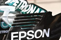 Mercedes-Benz F1 W08 rear wing detail