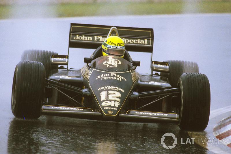 Surgia a maior ameaça a Prost: Ayrton Senna