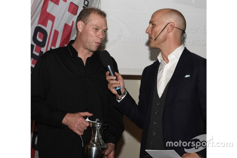 Frédéric Neff à la cérémonie des champions de ASS à Berne