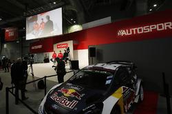 Kris Meeke et Craig Breen, Citroen, rencontrent Henry Hope-Frost sur la scène Autosport