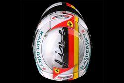 Helm van Sebastian Vettel