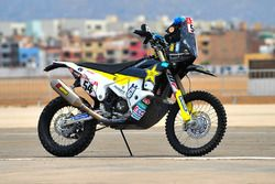 Bike of #54 Husqvarna Factory Racing: Andrew Short