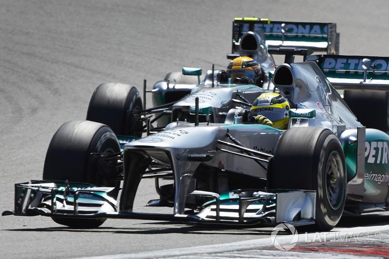 2013: Nico Rosberg, Mercedes AMG F1 W04