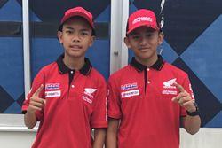 Mohammad Adenanta Putra dan Mario Suryo Aji, Astra Honda Racing Team