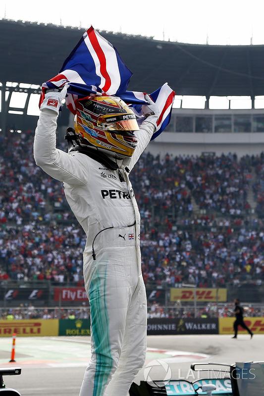 Il Campione del Mond 2017 Lewis Hamilton
