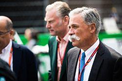 شون براتشز، المدير العام للعمليات التجارية وتشايس كاري، الرئيس التنفيذي لمجلس إدارة مجموعة الفورمولا
